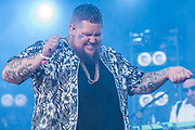 Rag 'N' Bone Man plays the Obelisk stage - The 2018 Latitude Festival, Henham Park. Suffolk 15 July 2018