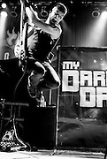 My Darkest Days opening for Hinder with Default at the House of Blues in Cleveland, OH on November 17, 2010