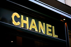 FRANCE PARIS 27JUL07 - Chanel shop sign on the Champs-Elysees, the main thoroughfare in Paris and home to the most prestigious fashion and consumer brands.. . jre/Photo by Jiri Rezac. . © Jiri Rezac 2007. . Contact: +44 (0) 7050 110 417. Mobile:  +44 (0) 7801 337 683. Office:  +44 (0) 20 8968 9635. . Email:   jiri@jirirezac.com. Web:    www.jirirezac.com. . © All images Jiri Rezac 2007 - All rights reserved.
