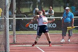 DAVIES Aled, GBR, Discus, F42, 2013 IPC Athletics World Championships, Lyon, France