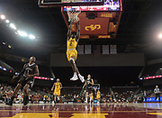 Nov 22, 2017; Los Angeles, CA, USA; Southern California Trojans guard Jonah Mathews (2) dunks the ball against the Lehigh Mountain Hawks during an NCAA basketball game at Galen Center. USC defeated Lehigh 88-63.