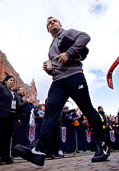 LONDON, ENGLAND - Sunday, March 17, 2019: Liverpool's Xherdan Shaqiri arrives before the FA Premier League match between Fulham FC and Liverpool FC at Craven Cottage. (Pic by David Rawcliffe/Propaganda)