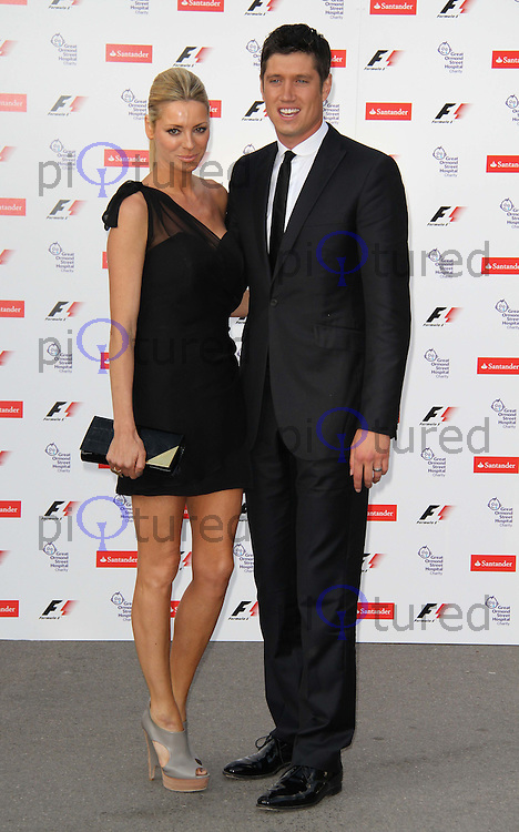Tess Daly ; Vernon Kay F1 Party held in aid of Great Ormond Street Hospital Children's Charity at London's Natural History Museum, UK, 05 July 2010:  For piQtured Sales contact: Ian@Piqtured.com +44(0)791 626 2580 (Picture by Richard Goldschmidt/Piqtured)