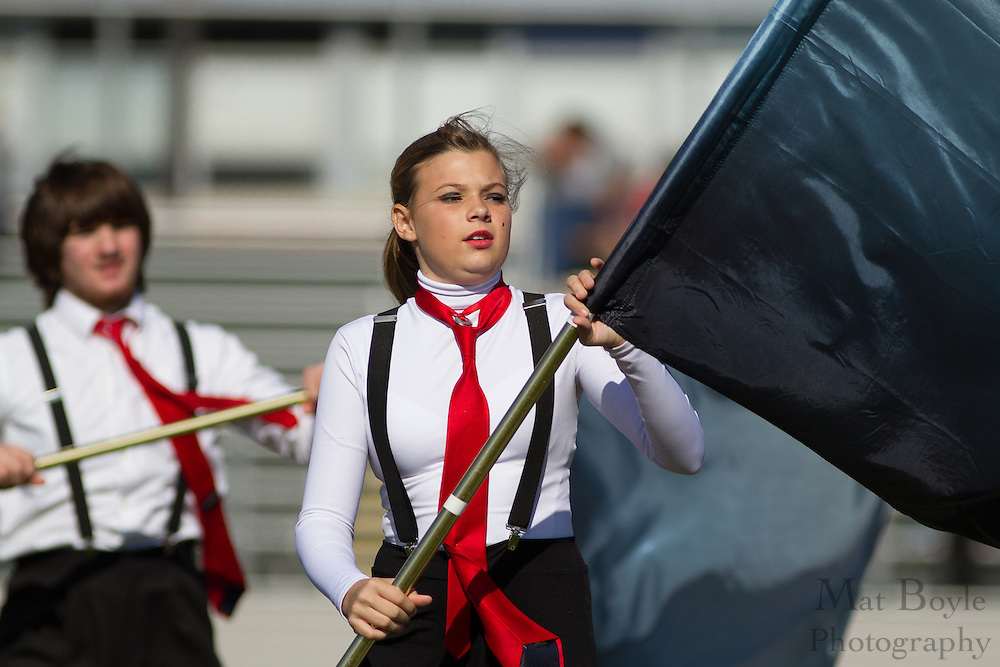 Lindenwald High School's marching band performs at the South Jersey Chapter Championships held at Clearview High School on Sunday October 21, 2012. (photo / Mat Boyle)
