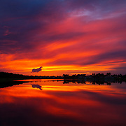 A classic sunset in South Florida.<br />
