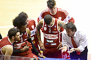 DESCRIZIONE : Reggio Emilia Campionato Lega A 2014-15 Grissin Bon Reggio Emilia Openjobmetis Varese<br /> GIOCATORE : Gianmarco Pozzecco<br /> CATEGORIA : Allenatore Coach Time Out Fair Play<br /> SQUADRA : Openjobmetis Varese<br /> EVENTO : Campionato Lega A 2014-15<br /> GARA : Grissin Bon Reggio Emilia Openjobmetis Varese<br /> DATA : 08/02/2015<br /> SPORT : Pallacanestro <br /> AUTORE : Agenzia Ciamillo-Castoria/A.Giberti<br /> Galleria : Campionato Lega A 2014-15  <br /> Fotonotizia : Reggio Emilia Campionato Lega A 2014-15 Grissin Bon Reggio Emilia Openjobmetis Varese<br /> Predefinita :