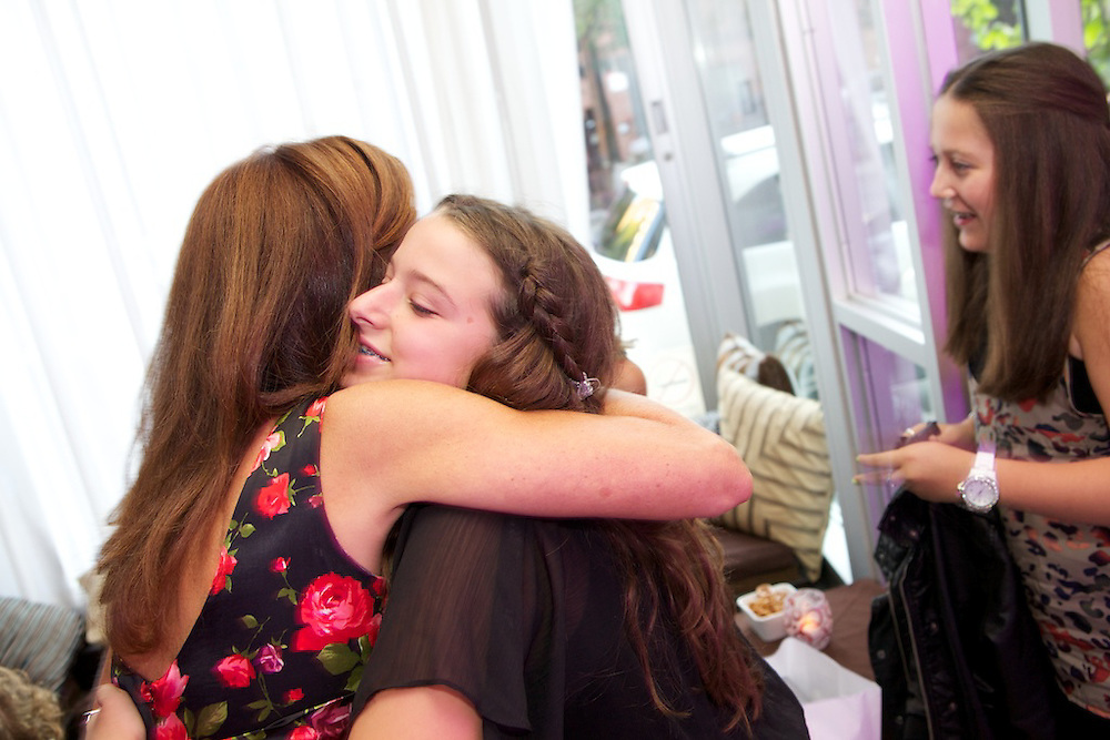 Erica Rawas celebrates her Bat Mitzvah with family and friends on August 24th, 2010 in Montreal