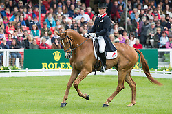Townend Olivier, (GBR), Armada<br /> Dressage <br /> Mitsubishi Motors Badminton Horse Trials - Badminton 2015<br /> © Hippo Foto - Jon Stroud<br /> 08/05/15