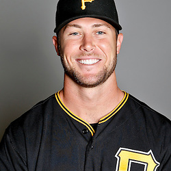 February 17, 2013; Bradenton, FL, USA;  Pittsburgh Pirates relief pitcher Hunter Strickland (67) poses for photo day at Pirate City.  Mandatory Credit: Derick E. Hingle-USA TODAY Sports