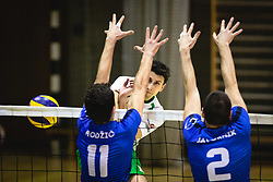Rojnik Jakob of Panvita Pomgrad during volleyball match between Panvita Pomgrad and Šoštanj Topolšica of 1. DOL Slovenian National Championship 2019/20, on December 14, 2019 in Osnovna šola I, Murska Sobota, Slovenia. Photo by Blaž Weindorfer / Sportida