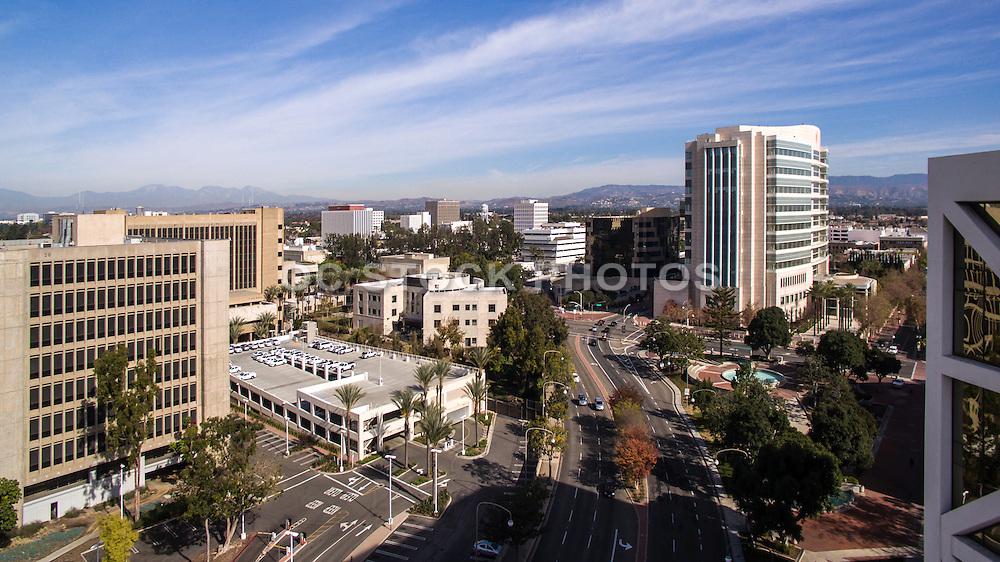 Ronald Reagan Federal Building in Downtown Santa Ana