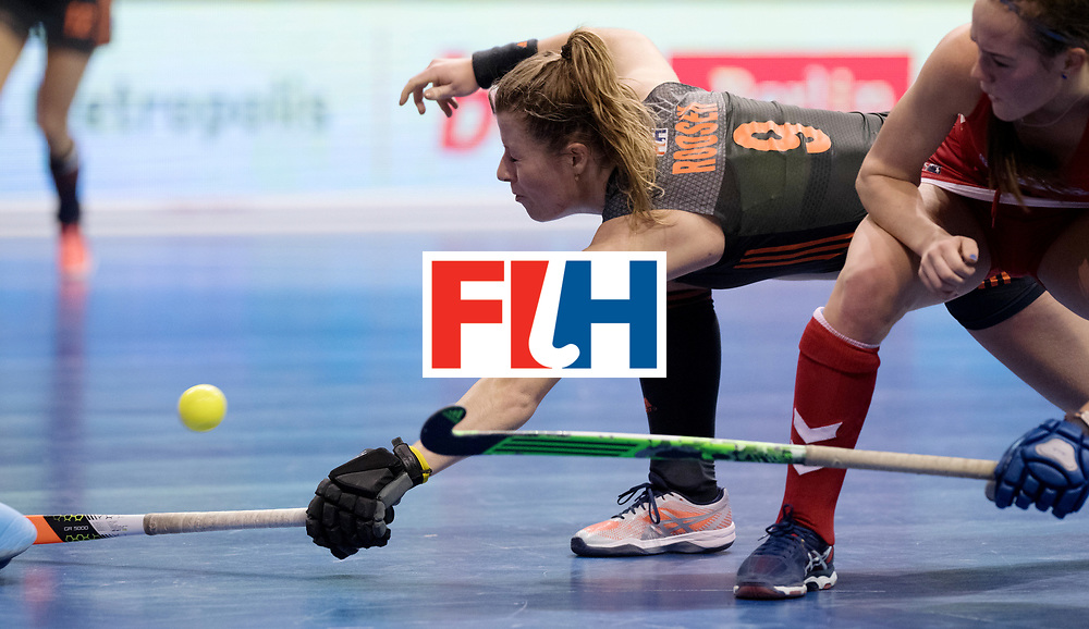 BERLIN - Indoor Hockey World Cup<br /> Women: Netherlands - United States<br /> foto: Fabienne Roosen.<br /> WORLDSPORTPICS COPYRIGHT FRANK UIJLENBROEK