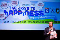 BUSSUM - NVG / NGF/ PGA congres 2018. The drive to happiness. NVG voorzitter Dirk-Jan Vink.  COPYRIGHT KOEN SUYK