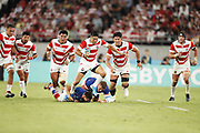 Rikiya MATSUDA (JPN) during the Japan 2019 Rugby World Cup Pool A match between Japan and Russia at the Tokyo Stadium in Tokyo on September 20, 2019.