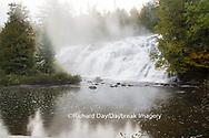 64797-00609 Bond Falls in fall, Ontonagon County, MI