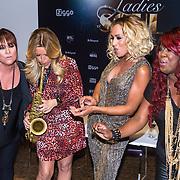NLD/Amsterdam/20130916 - Bekendmaking van het concert Ladies of Soul, Trijntje oosterhuis, Candy Dulfer, Glennis Grace en Berget Lewis
