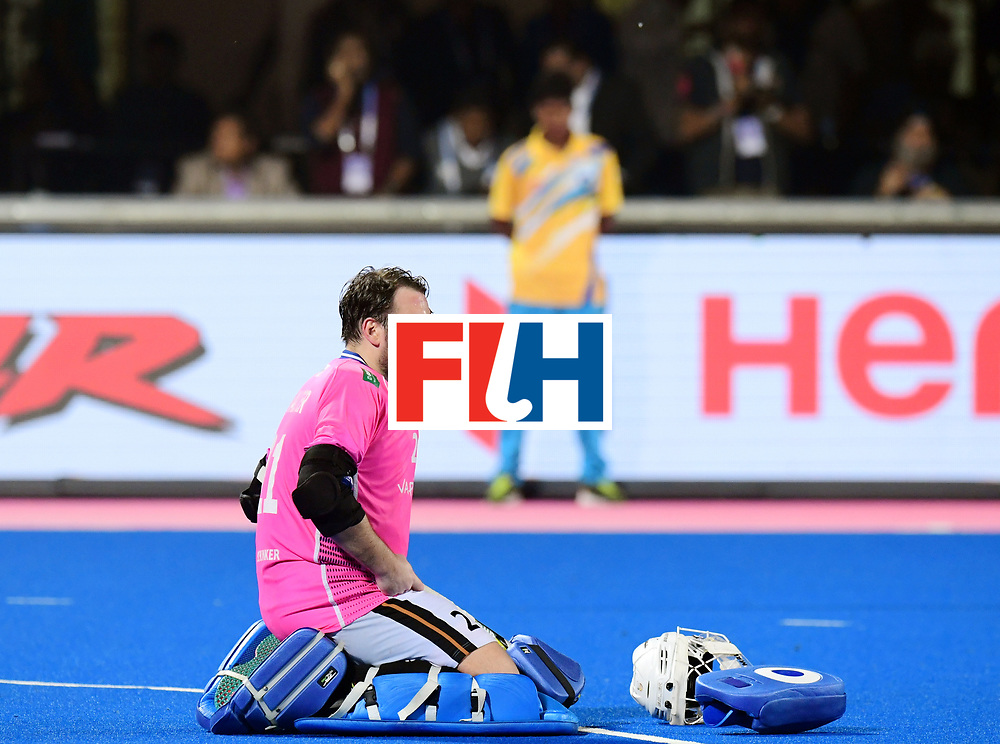 Odisha Men's Hockey World League Final Bhubaneswar 2017<br /> Match id:21<br /> India v Germany<br /> Foto: India won the Brons Medal against Germany<br /> keeper Tobias Walter (Ger) <br /> COPYRIGHT WORLDSPORTPICS FRANK UIJLENBROEK
