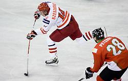 RZESZUTKO Jaroslaw of Poland at IIHF Ice-hockey World Championships Division I Group B match between National teams of Hungary and Poland, on April 18, 2010, in Tivoli hall, Ljubljana, Slovenia.  (Photo by Vid Ponikvar / Sportida)