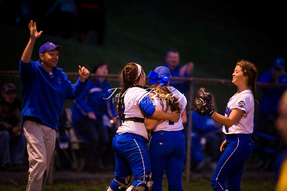 May 21, 2015.  <br /> MCHS Varsity Softball vs Central Woodstock.  Bull Run District Tournament Finals.  Madison wins 3-1.