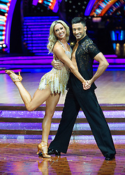 Faye Tozer and Giovanni Pernice attend the photocall for the 'Strictly Come Dancing' live tour at Arena Birmingham on 17 January 2019 in Birmingham, England. Picture date: Thursday 17 January, 2019. Photo credit: Katja Ogrin/ EMPICS Entertainment.