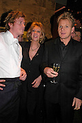 Ian Pengelley, Baroness Marie-Clare von Alvenslebben and Gordon Ramsay . Pengelley's opening. 164 Sloane St. London SW1. 22 February 2005. . ONE TIME USE ONLY - DO NOT ARCHIVE  © Copyright Photograph by Dafydd Jones 66 Stockwell Park Rd. London SW9 0DA Tel 020 7733 0108 www.dafjones.com