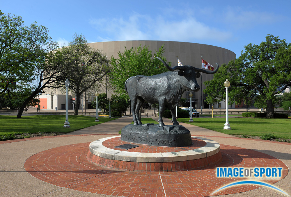 Mar 31, 2012; Austin, TX, USA; General view of the Frank C. Erwin Jr. Special Events Center on the campus of the University of Texas.