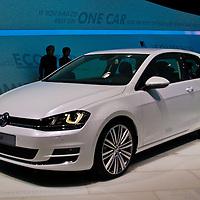 Volkswagen Golf G7 (2013) at the Paris Motor Show 2012