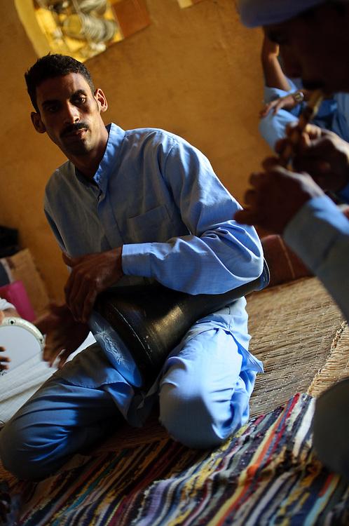 Bedouin musicians
