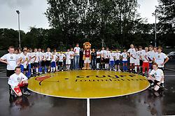 11-06-2011 VOETBAL: SELECTIE WK JUNIOR CUP DIABETES: AMSTERDAM<br /> Op Cruyff court Amsterdam werd de laatste test gehouden.<br /> ©2011-FotoHoogendoorn.nl
