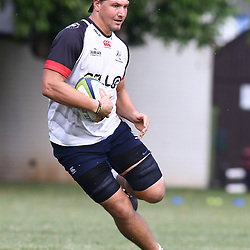Etienne Oosthuizen  during The Cell C Sharks training session at Growthpoint Kings Park in Durban, South Africa. 28 March 2017(Photo by Steve Haag)<br /> <br /> images for social media must have consent from Steve Haag