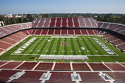 September 3, 2011; Stanford, CA, USA;  General view of Stanford Stadium before the game between the Stanford Cardinal and the San Jose State Spartans.