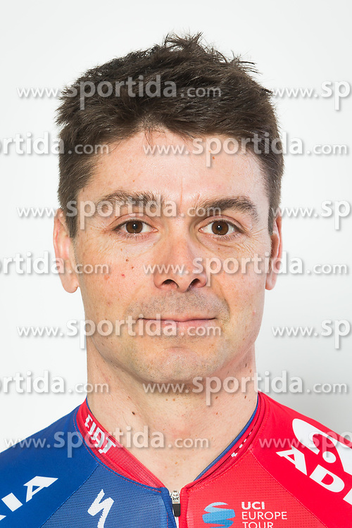 Jure Golcer during photo session of Cycling Team KK Adria Mobil, on January 22, 2018 in Novo Mesto, Novo Mesto, Slovenia. Photo by Vid Ponikvar / Sportida