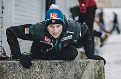 11.03.2020, Granasen, Trondheim, NOR, FIS Weltcup Skisprung, Raw Air, Trondheim, Herren, im Bild Robin Pedersen (NOR) // Robin Pedersen of Norway during men's 3rd Stage of the Raw Air Series of FIS Ski Jumping World Cup at the Granasen in Trondheim, Norway on 2020/03/11. EXPA Pictures © 2020, PhotoCredit: EXPA/ JFK