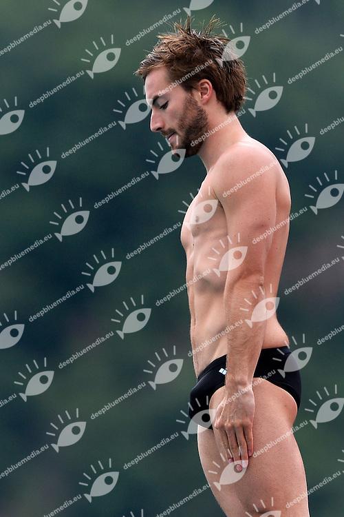 Maicol Verzotto Italia <br /> Bolzano 29/6/2013 Piscina Lido<br /> 19th Fina Diving Grand Prix <br /> Men's 10m Platform <br /> Tuffi <br /> Foto Andrea Staccioli Insidefoto