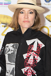 Victoria House, London, April 26th 2016. Cerys Matthews photographed at the Jazz FM awards at Victoria House, Bloomsbury, London.