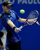 20111117: SAO PAULO, BRAZIL - ATP Challenger Tour Finals 2011: Rui Machado vs Dudi Sela.<br /> In photo: Tennis Player Dudi Sela.<br /> PHOTO: CITYFILES