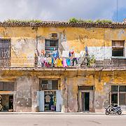 Yellow Cuba Building