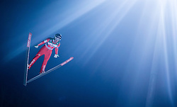 06.01.2015, Paul Ausserleitner Schanze, Bischofshofen, AUT, FIS Ski Sprung Weltcup, 63. Vierschanzentournee, Finale, im Bild Matjaz Pungertar (SLO) // Matjaz Pungertar of Slovenia during Final Jump of 63rd Four Hills <br /> Tournament of FIS Ski Jumping World Cup at the Paul Ausserleitner Schanze, Bischofshofen, Austria on 2015/01/06. EXPA Pictures &copy; 2015, PhotoCredit: EXPA/ JFK