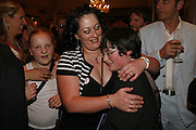 Lisa Kavanagh and her son Brad Kavanagh.  Billy Elliot the Musical celebrates First Birthday. Victoria Palace Theatre. 12 May 2006. ONE TIME USE ONLY - DO NOT ARCHIVE  © Copyright Photograph by Dafydd Jones 66 Stockwell Park Rd. London SW9 0DA Tel 020 7733 0108 www.dafjones.com