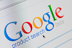 Detail of screenshot from website of Google Product Search  website