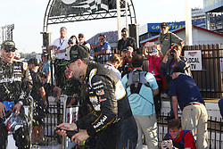 October 14, 2018 - Talladega, Alabama, United States of America - Aric Almirola (10) wins the 1000Bulbs.com 500 at Talladega Superspeedway in Talladega, Alabama. (Credit Image: © Justin R. Noe Asp Inc/ASP via ZUMA Wire)