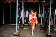 25-9-2018 NEW YORK - Queen Maxima leaves at the United Nations building. The Queen is in her capacity as special UN advocate for inclusive financing for development. copyrught robin utrecht