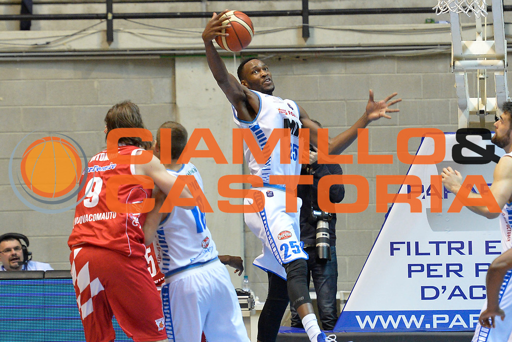 Jajuan Johnson<br /> Red October Cantu' vs The Flexx Pistoia<br /> Lega A  2016/2017<br /> Desio 15/04/2017<br /> Foto Ciamillo-Castoria<br /> Provvisorio