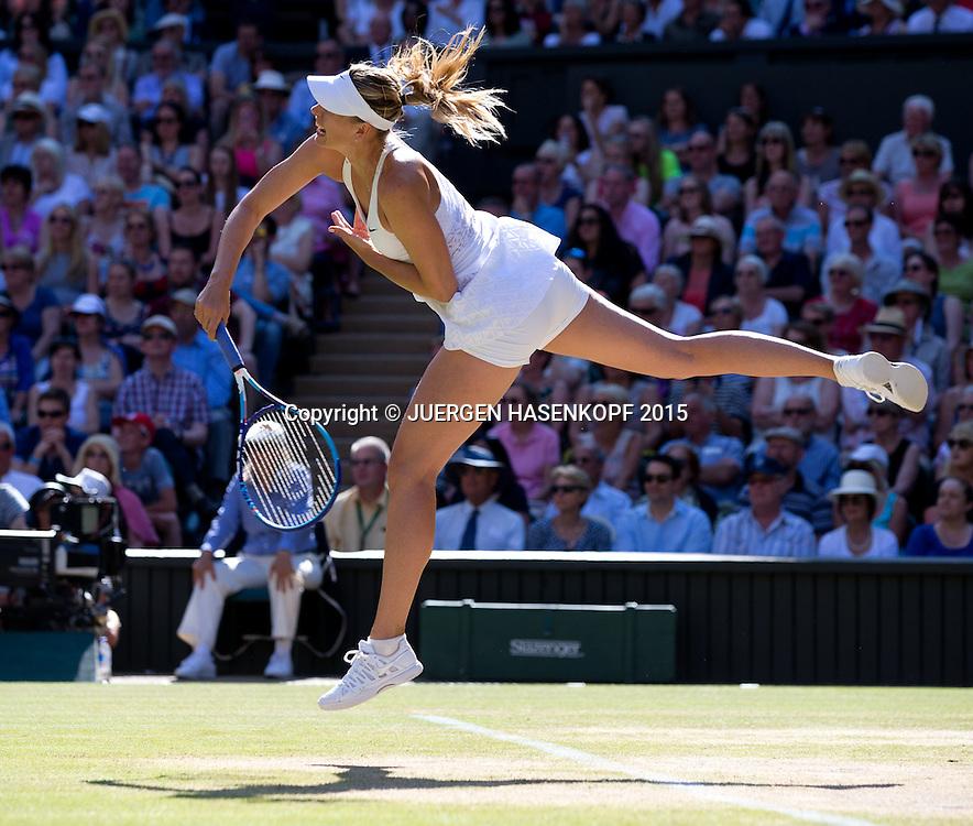 Maria Sharapova (RUS)<br /> <br /> Tennis - Wimbledon 2015 - Grand Slam ITF / ATP / WTA -  AELTC - London -  - Great Britain  - 9 July 2015.