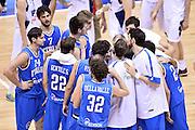 DESCRIZIONE : Trieste torneo internazionale Italia Bosnia<br /> GIOCATORE : Team Italia<br /> CATEGORIA : nazionale maschile senior A<br /> GARA : Trieste torneo internazionale Italia Bosnia<br /> DATA : 04/08/2014<br /> AUTORE : Agenzia Ciamillo-Castoria