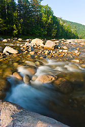The East Branch of the Pemigewasset River in New Hampshire's White Mountains.
