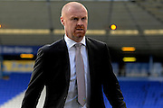 Burnley manager Sean Dyche during the Sky Bet Championship match between Birmingham City and Burnley at St Andrews, Birmingham, England on 16 April 2016. Photo by Alan Franklin.