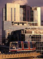Docklands Light Railway (DLR), London, England
