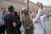 GAVIN TURK, Venice Biennale, Venice. 7 May 2015