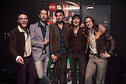 A shot of Dublin band The Hot Sprockets before their 'Brother Nature' album launch in Dublin's Button Factory